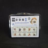 The Dog 28 super-sized dominoes in collectible tin Lunchbox Artist collection
