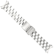 20MM WATCH BAND BRACELET FOR 42MM BREITLING SUPEROCEAN A13340 POLISH SOLID STEEL
