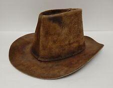 Western Cowboy Hat United Hatters Cap & Mill Works Brown L Vintage