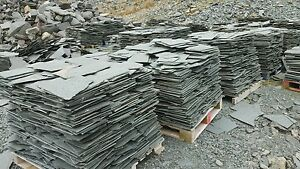 Westmorland Green Slate Crazy Paving 15mm to 25mm THICK £25m2 Min Order 10m2