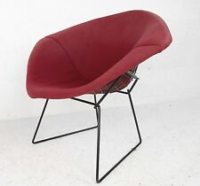 Mid-Century Modern Upholstered Knoll Bertoia Diamond Chair (1087)JR