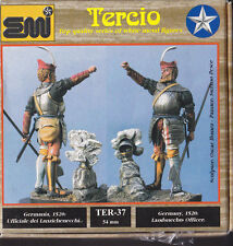 EMI TERCIO - TER-37 - 54mm UFFICIALE DEI LANZICHENECCHI GERMANIA 1520 - NUOVO