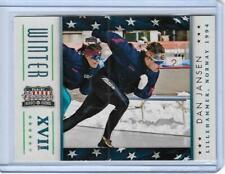 AWESOME 2012 PANINI AMERICANA DAN JANSEN CARD #10 ~ OLYMPIC SPEEDSKATING LEGEND