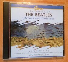 ☀️ Excelsior Music of The Beatles Across the Universe CD Symphonic Pop MINT