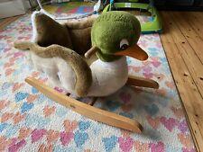 Duck Mallard Baby Toddler Rocking Horse Gygy