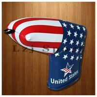 US Stock Flag Golf Putter Head Cover for Titleist Scotty Cameron Select Newport