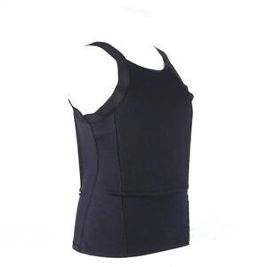 Bulletproof T-shirt Vest Ultra Thin made with Kevlar Body Armor NIJ IIIA AAA