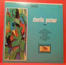 CHARLIE PARKER VOLUME II VINYL LP '70 ORIGINAL PRESS GREAT CONDITION! VG++/VG+!!