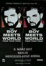 The Boy meets World Konzert Plakat Poster Berlin
