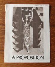 >1967 Avant-Garde Magazine *SeXy HiPpiE* CHARTER SUBSCRIBER BROCHURE/ORDER FORM