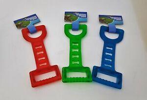 Hunde Kauspielzeug mit 2 Griffen Spielzeug 28x10 cm Vollkunststoff
