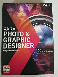 Magix Xara Photo and Graphic Designer Sealed Software PC New in Box