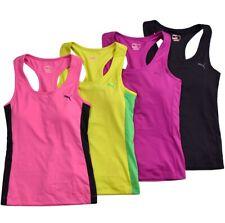 Puma Tank Top mit Sport BH Damen Bustier Shirt Bra Fitness Running Gym XS S M L