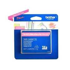 Brother P-touch TZe-MQP35 Schriftband-Kassette 12 mm, weiß auf matt-pink (np)