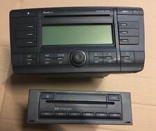 SKODA OCTAVIA MK2 04-08 STREAM AUDIO CD MP3 STEREO RADIO PLAYER CODE &CD CHANGER