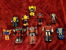 Transformers Lot: Bluestreak, Ironhide, Netflix Bumblebee, Cliffjumper,