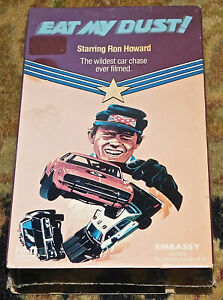 Eat My Dust! VHS 1977 FACTORY SEALED NEW Movie RARE Out of Print Ron Howard Dust