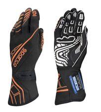 FIA SPARCO gloves LAP RG-5 BLACK/ORANGE rally SIZES 8 9 10 11 12