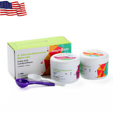 Dental Putty Impression Material Set A-Silicone Material Base & Catalyst 400G*2