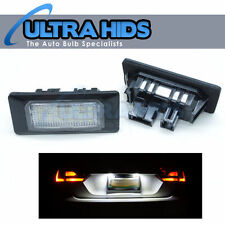 * 2PC 18 SMD LED NUMBER PLATE WHITE UPGRADE UNITS VW AUDI SEAT PORSCHE