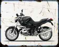 Bmw R1200R 10 2 A4 Metal Sign Motorbike Vintage Aged