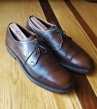 Roblee Ro-Flex Mens Vintage Brown Pebbled Leather Oxfords Shoes Size 9.5 E/C