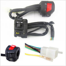 "2X Multifunction 7/8"" 22mm Motorcycle Handlebar Horn Signal Light Control Switch"