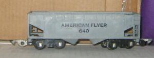 AMERICAN FLYER  S gauge #640 AMERICAN FLYER HOPPER CAR