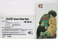 Coca-Cola - SCORE BOARD-SPRINT PHONE CARD n° 05 - sc. 02-98-scheda telefonica