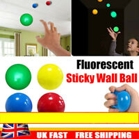 4X Sticky Balls Sticky Balls for Ceiling Stress Relief Globbles Stress Kid Toy