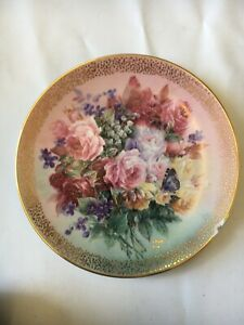 Lena Liu Plate Symphony of Shimmering Beauty Issue #6 'Rose Fantasy'