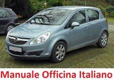 OPEL CORSA D  (2006/2014) Manuale Officina Riparazione ITALIANO