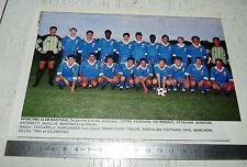 CLIPPING POSTER FOOTBALL 1988-1989 SPORTING CLUB BASTIA SCB SECB FURIANI CORSICA