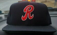 Rochester Redwings R New Era Vintage Hat 7 3/8 Milb Deadstock Green Brim RARE 92
