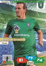 196 ALEKSEY ARAVIN RUSSIA # FK.TOM TOMSK ADRENALYN PANINI 2014