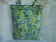 Vera Bradley English Meadow Slim Tote Handbag NWT Cotton Free Shipping  BIN$46