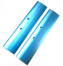 1/8 Scale Buggy / Truggy RC Rear Wing Spoiler Alloy Blue 205mm long