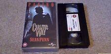 CARLITO'S WAY 4FRONT UNIVERSAL UK PAL VHS VIDEO 1999 AL PACINO SEAN PENN
