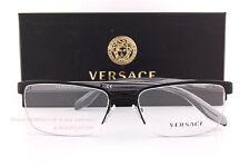 af1aabe2a5 Brand New VERSACE Eyeglass Frames 1241 1261 BLACK Women Men 100% Authentic  SZ 54