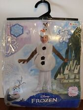 Disney Frozen Olaf Deluxe Toddler Child Costume Halloween Officially Licensed