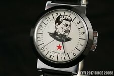 Vintage Russian USSR military style WAR2 WW2 watch STALIN Rocket 2623 OLD stock