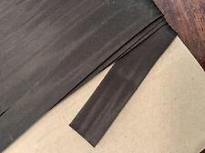 2m x 20mm Black Satin Fabric Bias Binding Poly Tape Double Fold Non Stretch