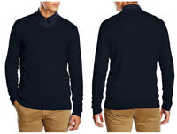NEW MEN'S LEE SWEATER KNIT KNITTED V-NECK WOOL JUMPER /RRP:75£/ XS/S/M/L/XL/XXL