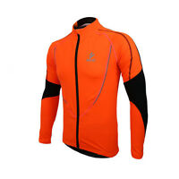 Mens Cycling Clothing Road Bike Bicycle Long Sleeve Sports Wear Jersey Jacket