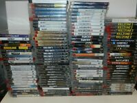 Sony Playstation 3 PS3 Games Complete Fun You Pick & Choose Video Games Lot