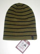 New with Tag Licensed A. Kurtz Deck Stripe Military Beanie Hat MSP $30   CR