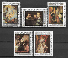 NIGER SERIE N°427/431  RUBENS 1978 NEUF ** LUXE TOP AFFAIRE !!!!!!!!!!!!!!!