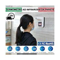 TERMOMETRO DIGITALE A INFRAROSSI AUTOMATICO DA MURO DA PARETE TERMOSCANNER K3.