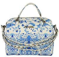 Borsa Bauletto Donna Azzurro Ermanno Scervono Bag Woman Light Blu Linea Coral...