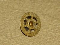 Antique Mantle Shelf Clock Dial Alarm Center Ring